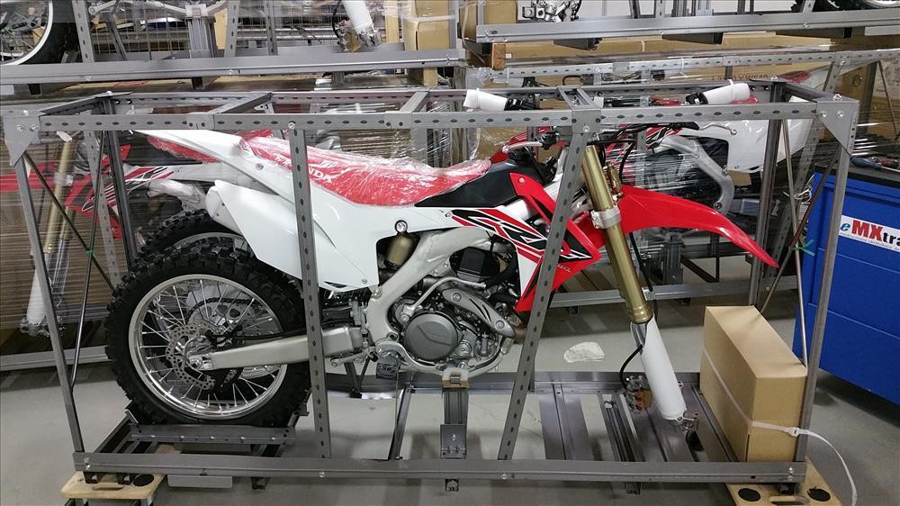 motocross en caisse